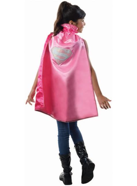Capa de Supergirl DC Comics deluxe para niña