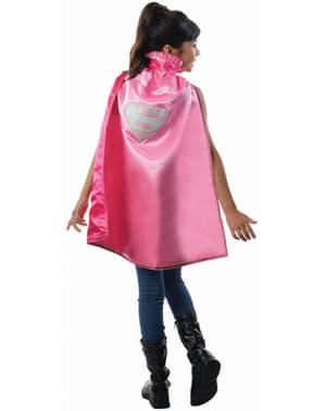 Tyttöjen Supergirl DC Comics deluxe viitta