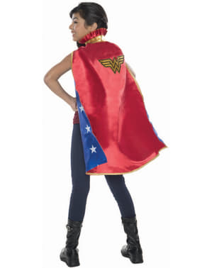 Girls Wonder Woman DC Comics deluxe cape