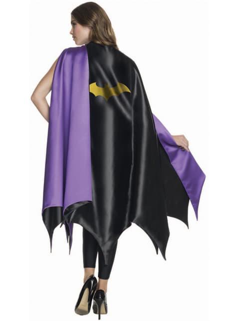 Capa de Batgirl DC Comics deluxe para mujer