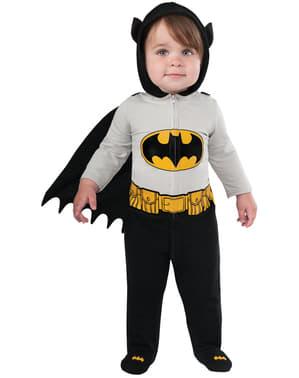 Costum Batman curajos DC Comics pentru bebeluși