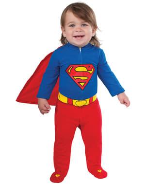 Costum Superman din Krypton DC Comics pentru bebeluși