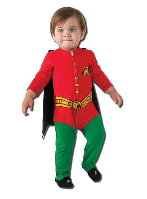 Μωρό Robin DC Κόμικς κοστούμι