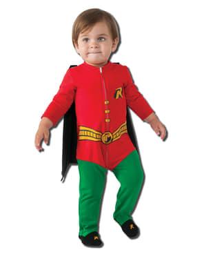 Costum Robin DC Comics pentru bebeluși