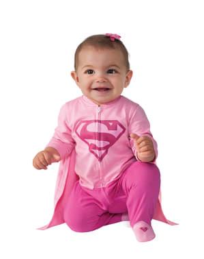 Costum Supergirl DC Comics pentru bebeluși