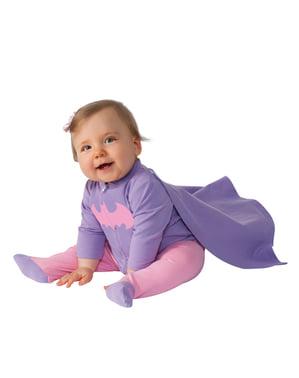 Costum Batgirl DC Comics pentru bebeluși