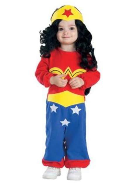 Disfraz de Wonder Woman Amazonas DC Comics para bebé