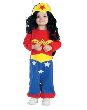 Costum Wonder Woman Amazona DC Comics pentru bebeluși