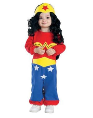 Déguisement Wonder Woman Amazone DC Comics bébé