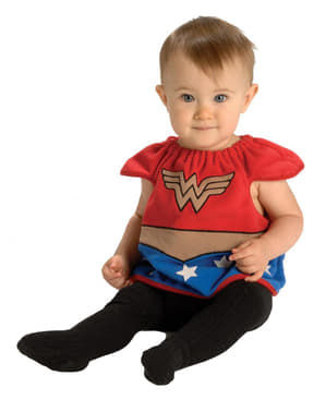 Wonder Woman Kostüm für Babys deluxe DC Comics
