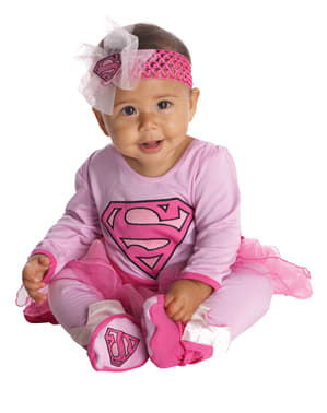 Fato de Supergirl DC Super friends para bebé
