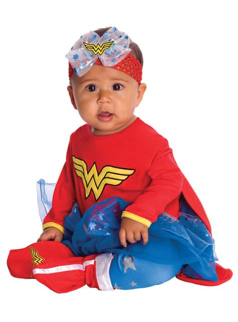 Disfraz de Wonder Woman DC Super friends para bebé