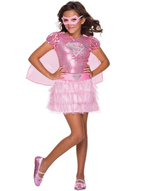 Disfraz de Supergirl DC Comics para niña