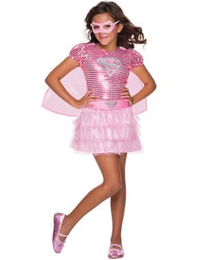 Costum Supergirl DC Comics pentru fată