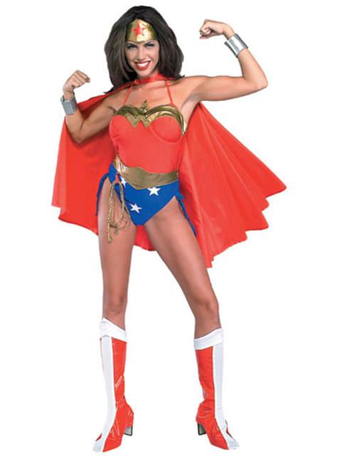 Disfraz de Wonder Woman sexy DC Comics para mujer