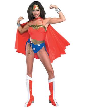 Fato de Wonder Woman sexy DC Comics para mulher