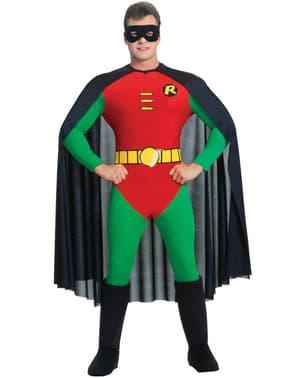 Fato de Robin deluxe Teen Titans Go para homem