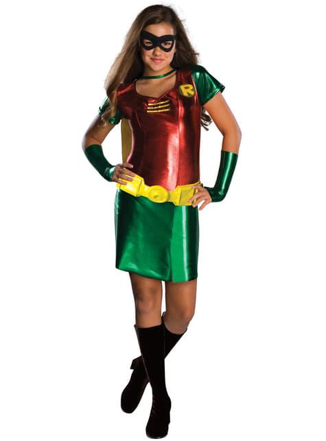 Disfraz de Robin Teen Titans Go para adolescente