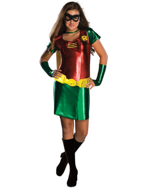 רובין Teen Titans Go בנות נוער תחפושת