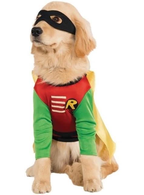 Fato de Robin Teen Titans Go para cão