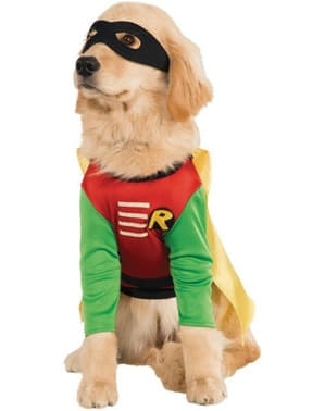 Disfraz de Robin Teen Titans Go para perro