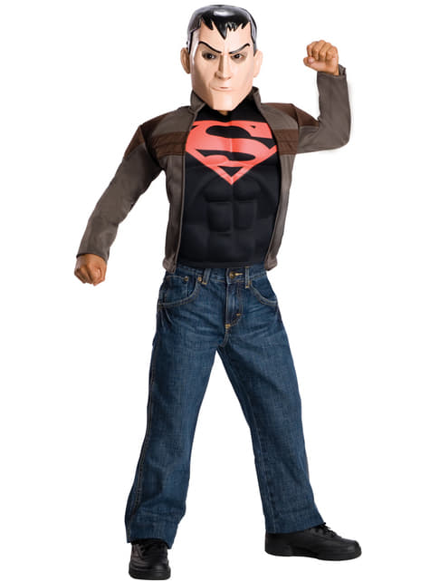 Childrens Superboy Young Justice costume kit