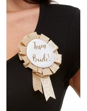 """""""Team Bride"""" Розовое золото для женщин"""