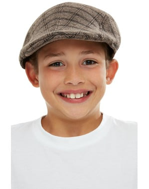 Gorra plana Gángster para niño