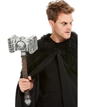 Martillo de vikingo guerrero para hombre