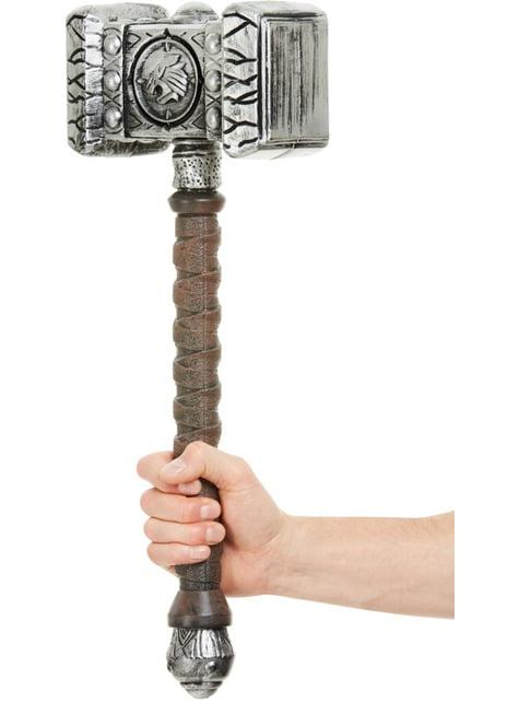Martillo de vikingo guerrero para hombre - para tu disfraz