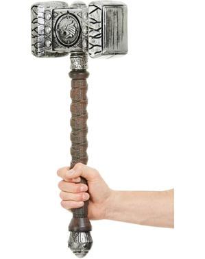 Viking krigare hammare vuxen