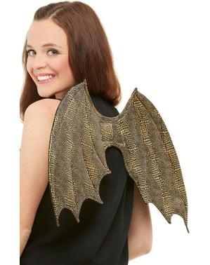 Gouden engels vleugels voor volwassenen
