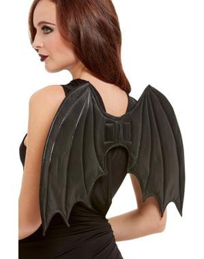 Asas de morcego para mulher