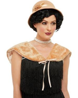 20s Costume Set pre ženy v zlate