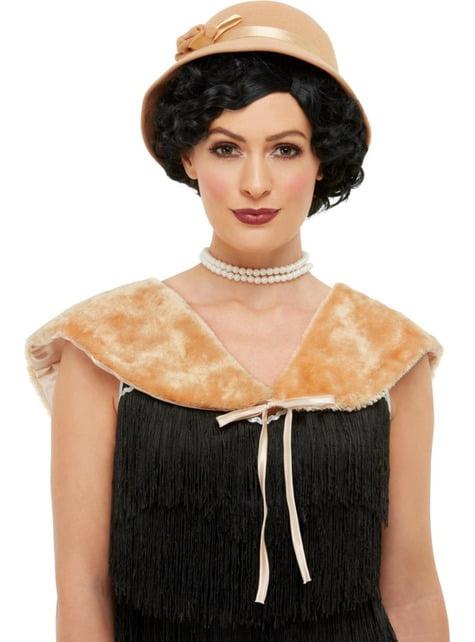 20er Jahre Damen Set gold - für dein Kostüm