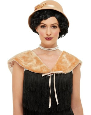 20s Costume Set for Women in Gold