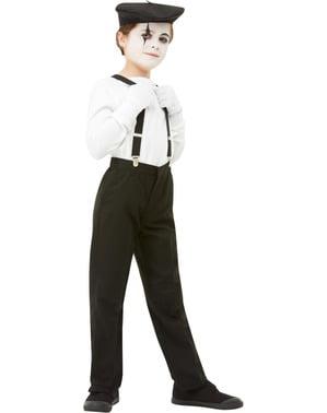 Mime kostuum set voor kinderen