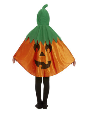 Pumpkin Cape for Kids
