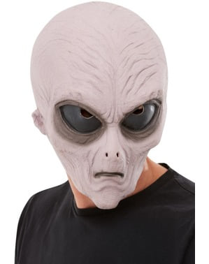 Alien Latexmask för vuxen