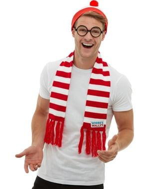 Kit costume Dov'è Wally? Per uomo