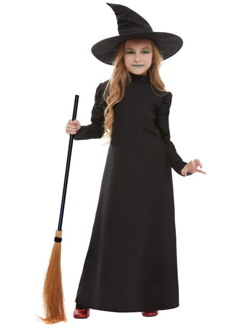 Evil Witch Costume for Girls - girl