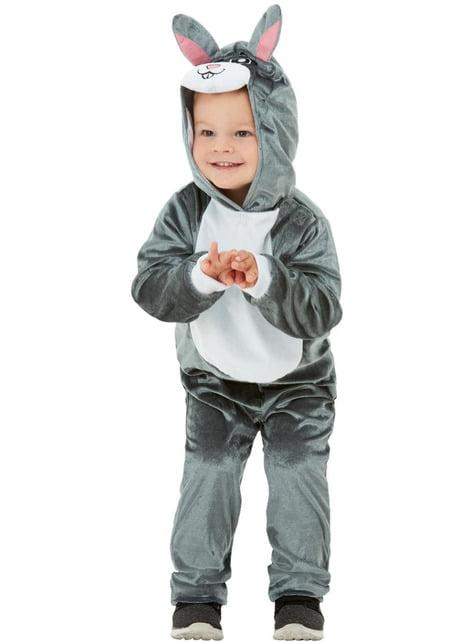 Hasen Kostüm grau für Jungen - kinder