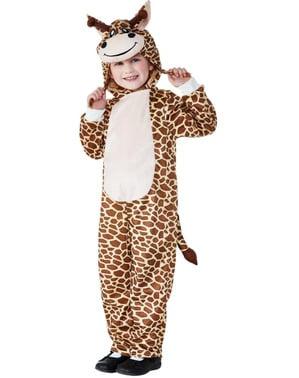 Kostým přátelská žirafa pro děti