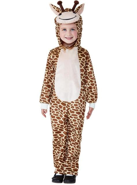 Disfraz de jirafa simpática infantil - infantil