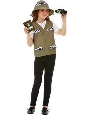 Ontdekkingsreiziger kostuum voor kinderen