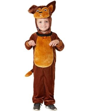 Costum de cățeluș adorabil pentru copii unisex