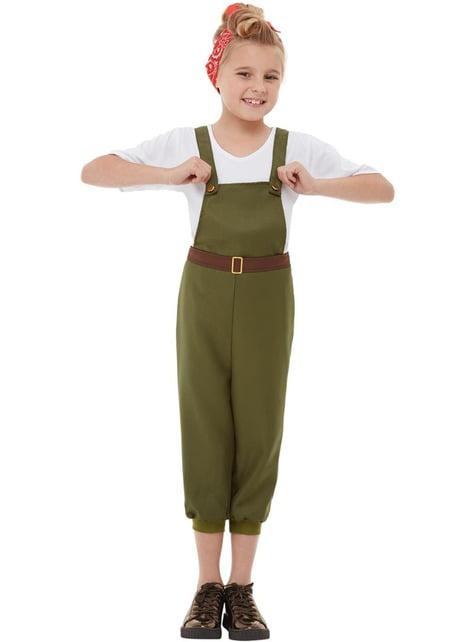 Boeren kostuum voor meisjes
