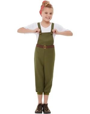 Kostým farmář pro dívky
