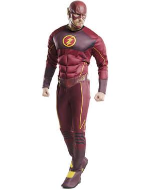 The Flash kostuum deluxe voor mannen