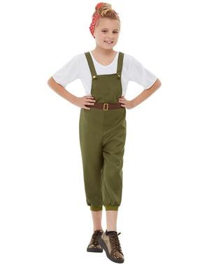 Disfraz de granjera para niña